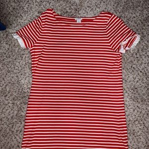 Perfect 4th of July t shirt dress!!
